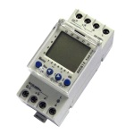 AHC812 Weekly Digital Programmable 2 Channels Time Switch